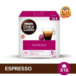 Café Tostado en Cápsulas Espresso Nescafé Dolce G x 16 un.