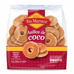 Galletas Anillos Sabor Coco Tía Maruca Sabor Coco x 250 g.