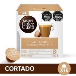 Café Tostado en Cápsulas Nescafé Dolce Gusto Espresso Macchiato x 16 un.