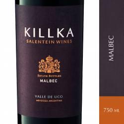 Vino Tinto Killka Malbec x 750 cc.