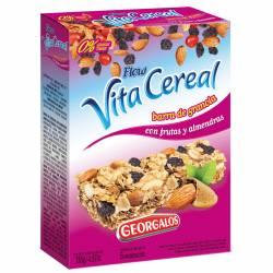 Cereal en Barra Frutas y Almendras Vitacereal Estuche x 138 g.