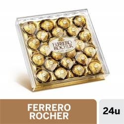 Bombones de Chocolate y Avellanas Ferrero Rocher x 300 g.