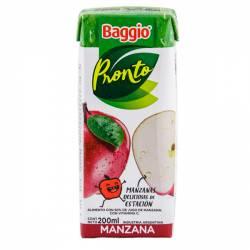Jugo Natural Baggio Pronto Manzana x 200 cc.