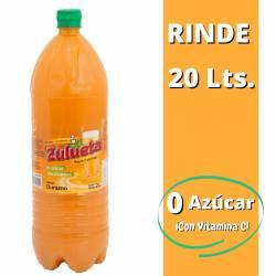 Jugo Concentrado Diet Zulueta Durazno x 2 Lt.