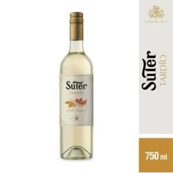 Vino Blanco Suter Cosecha Tardía x 750 cc.