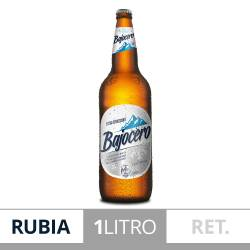 Cerveza Quilmes Bajo Cero Retornable x 1 Lt.