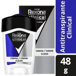 Antitranspirante Crema Rexona Clinical x 48 g.