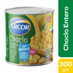 Choclo Desgranado Arcor Amarillo x 310 g.