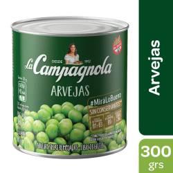 Arvejas Secas Remojadas La Campagnola x 300 g.