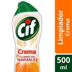 Limpiador Cremoso Cif Flores de Naranjo x 500 cc.