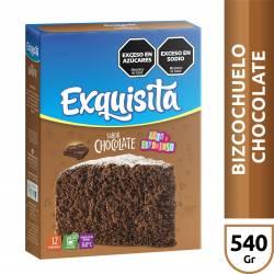 Polvo para Preparar Bizcochuelo Exquisita Chocolate x 540 g.