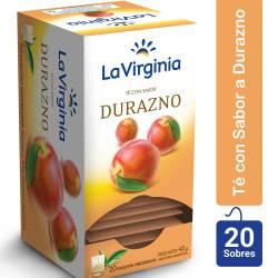Té en Saquitos Durazno La Virginia x 20 un.