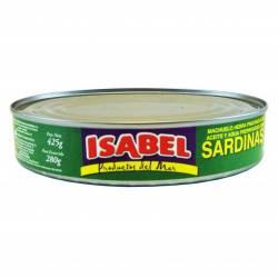 Sardinas en Aceite Isabel x 425 g.