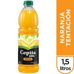 Jugo Natural Cepita Naranja Tentación x 1,5 Lt.