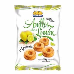 Galletitas Anillos Gold Mundo Sabor Limón x 250 g.