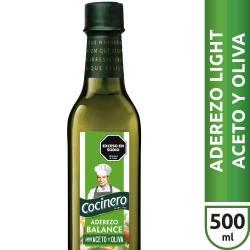 Aderezo para Ensaladas Light Cocinero Aceto y Oliva x 500 cc.