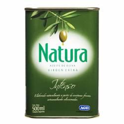 Aceite de Oliva Extra Virgen Natura Intenso Lata x 500 cc.