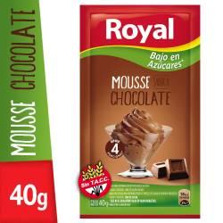 Postre para Prep. Mousse Chocolate Light Royal x 40 g.