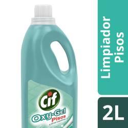 Limpiador Líquido Pisos Cif Oxy Gel x 2 Lt.