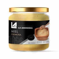 Miel de Abejas La Anónima Cremosa Frasco x 500 g.