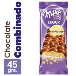 Chocolate Aireado Combinado Milka Leger x 45 g.