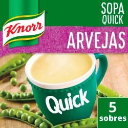 Sopa Knorr Arvejas Quick x 70 g.