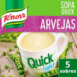 Sopa Knorr Arvejas Light Quick x 62 g.