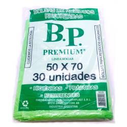 Bolsa para Residuos B.P. Ecológica 50x70cm x 30 un.