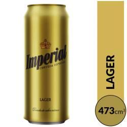 Cerveza Imperial Lata x 473 cc.