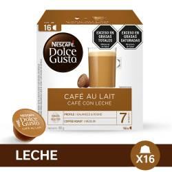 Café en cápsulas Nescafé Dolce Gusto Aut Lait x 16 un.