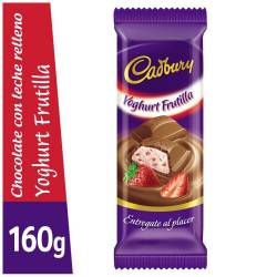 Chocolate Relleno con Yogur Cadbury x 160 g.