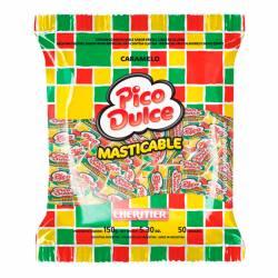 Caramelos Masticables Pico Dulce Fruta x 150 g.
