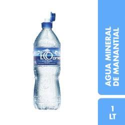 Agua Mineral sin gas Eco de los Andes One x 1 Lt.