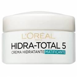 Crema Facial Loréal Hidra-Total 5 x 50 cc.