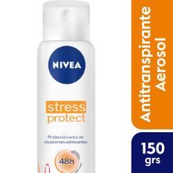 Antitranspirante Aerosol Nivea Deo Stress Protect Fem x 150 cc.