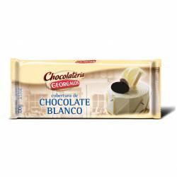 Cobertura Chocolate Blanco Georgalos x 100 g.