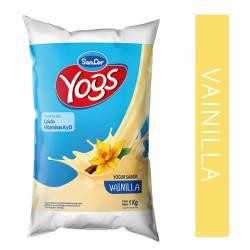 Yogur Bebible Sancor Yogs Vainilla Sachet x 1 Kg.