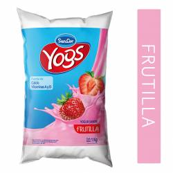Yogur Bebible Sancor Yogs Frutilla Sachet x 1 Kg.