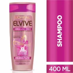 Shampoo Elvive Kera-Liso Nutri Alisante x 400 cc.