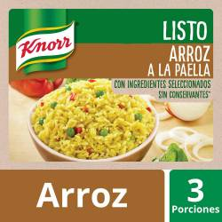 Arroz Knorr Tipo Paella x 185 g.