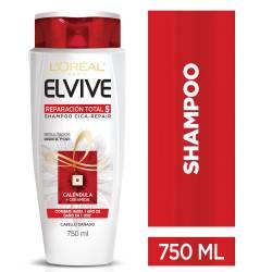 Shampoo Elvive Reparación Total 5 x 750 cc.