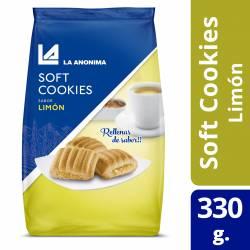 Galletitas Cookies La Anónima Limón x 330 g.