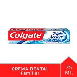 Crema Dental Colgate Triple Acción Xtra Blancura x 102 g.