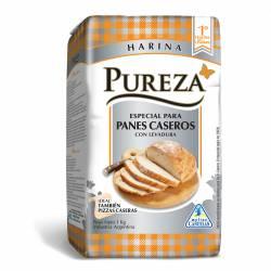 Harina con Levadura para Pan Casero Pureza x 1 kg.