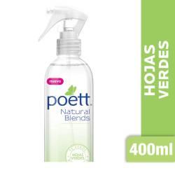 Aromatizante Ambiente Poett Hojas Verdes Spray x 400 cc.