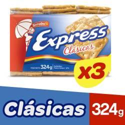 Galletitas Express Clásicas x 324 g.