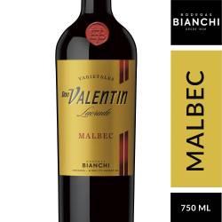Vino Tinto Don Valentín Malbec Roble x 750 cc.