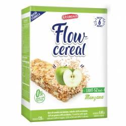Cereal en Barra Manzana Light Flow x 6 un. x 126 g.