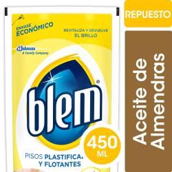 Limpiador Líquido para Pisos Blem Pisos Plásticos y Flotantes x 450 cc.