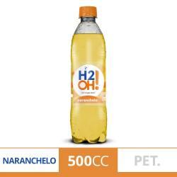 Agua con gas H2Oh Naranchelo x 500 cc.